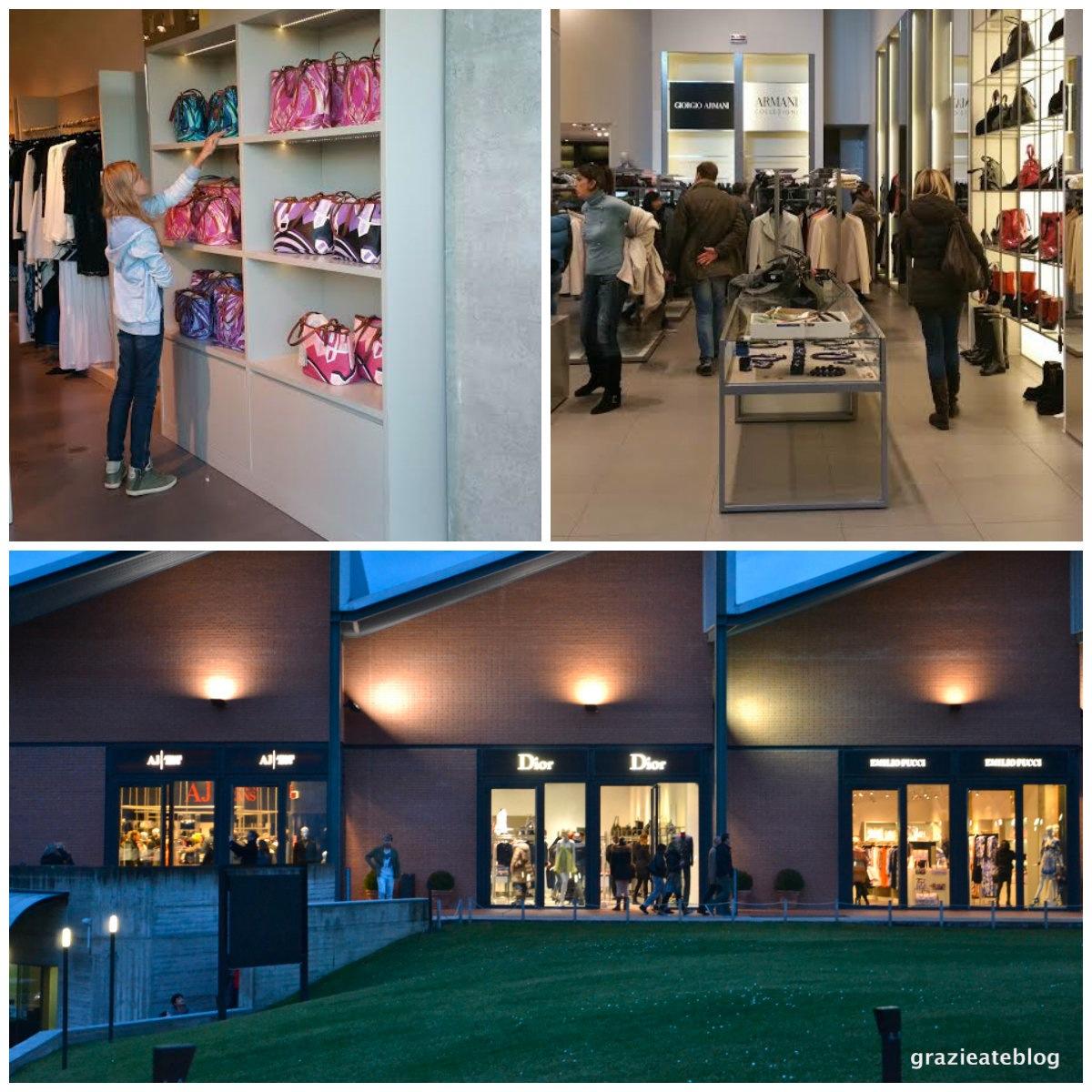 Grazie a te / Vale a pena ir até ao outlet The Mall, perto de Firenze?