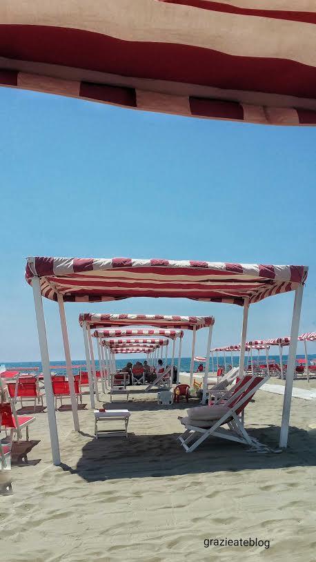 Versilia-praia